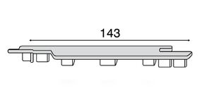 keralit eindkap rechts 2865 v 2814 kwartsgrijs 7039
