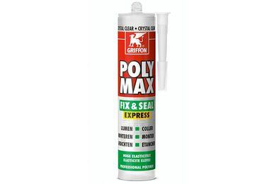 GRIFFON Poly Max Lijmkit Express Transparant