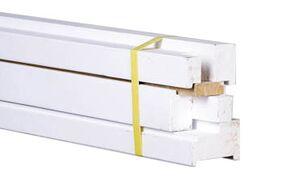 kozijn hardhout stomp wit gegrond 56x115x2315 fsc 100%