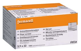 fermacell snelbouwschroeven 3,9x22mm 1000st