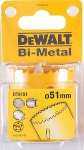 dewalt gatenzaag bi-metaal dt8151-qz 51mm