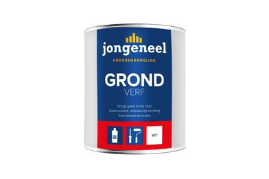 JONGENEEL Grondverf Wit Binnen / Buiten 750ml