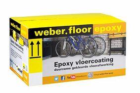 weber.floor epoxy coating ral 7001 grijs emmer 5kg