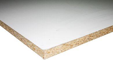 Plastitex Spaanplaat Met Witte Melamine Toplaag 2500x1250x18mm