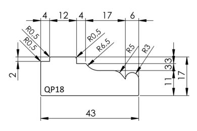 Sierlijst Q-Pine Grenen QP18 FSC 18x44x4800mm
