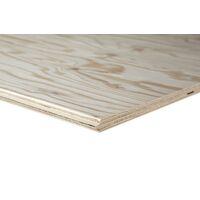 <p>Opgebouwd uit vuren fineren afkomstig van de fijnspar. Het hout heeft een uniforme geelwitte kleur. De regelmatige groeikenmerken, het gunstige gewicht en de sterkte eigenschappen van het vurenhout vormen de basis voor een sterke en stabiele plaat.</p>