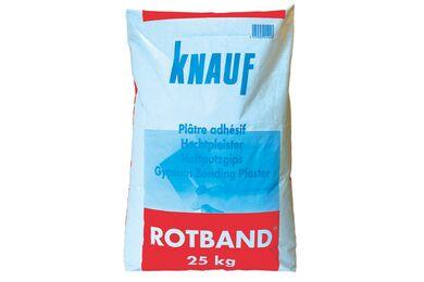 KNAUF Roodband (rotband hecht) Pleistergips Zak 25 kg