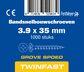 pontmeyer bandsnelbouwschroeven twinfast grove spoed 3,9x35mm 1000st
