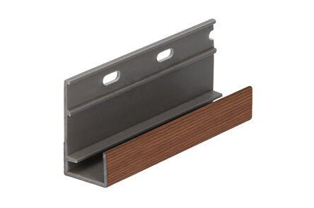 keralit omrandingsprofiel 2809 classic bruin redcedar 4000mm