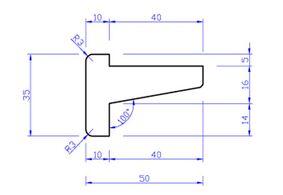meranti tongnaald tn1 (set van 2) 35x49x2450