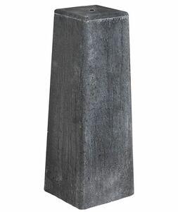 betonpoer antraciet 150x150x500