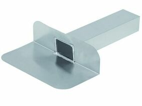 kiezelbak 90 graden aluminium 60x80x200mm