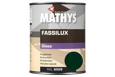 MATHYS Fassilux Gloss Donker Groen  Ral 6009 1Ltr