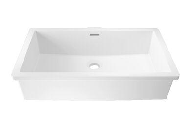 Krion Solid Surface Spoelbak B819 E Snow White 476x276x167mm