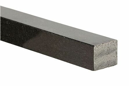 graniet dorpel glans zwart 50x50x1000mm
