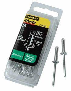 stanley popnagels 1-paa58t 4x12mm (set van 20 stuks)