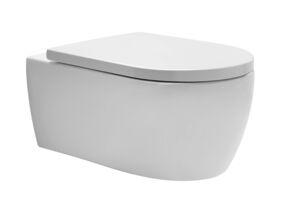 premium toiletset met calando closet + zitting alterna solo + bedieningsplaat