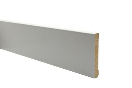 q-pine plint afgelakt ral 9010 12x55x4800