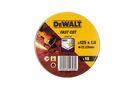 DEWALT DT3507-QZ Slijpschijf INOX 125x1mm ( 10 Stuks )