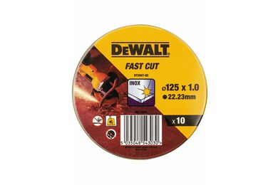 DEWALT DT3507-QZ Slijpschijf INOX 125x1mm