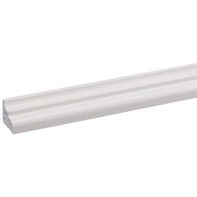grenen plafondlijst wit gegrond fsc mix 70% 18x22x2700