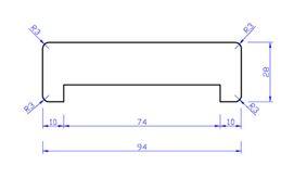 meranti gibolat gegrond gl1 28x92x3050