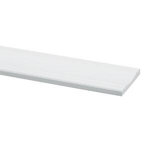 grenen decorlijst wit gegrond fsc mix 70% 8x57x2700