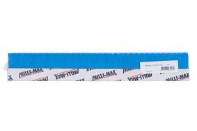 kunststof wig blauw 75x30x10mm (set van 68 stuks)