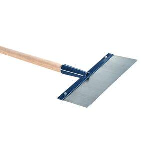 melkmeisje vloerschraper met steel 300x1mm