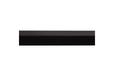 Hoekprofiel Zwart Kunststof 20x20x2600mm