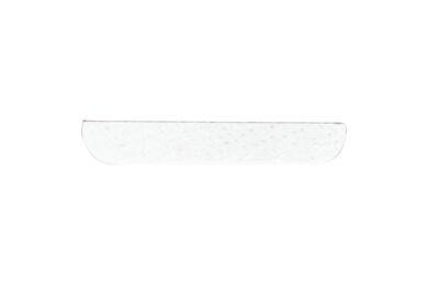 Grenen Afdeklijst Recht Gegrond Wit FSC 4x30x2700mm
