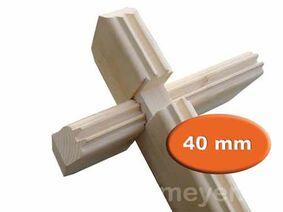 blokhutprofiel vuren geschaafd 40mm per m1