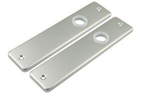 kortschild aluminium blind f1 naturel per paar