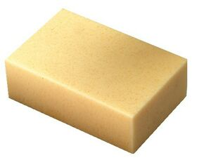 melkmeisje spons fijn/grof mm301165 165x110x60mm