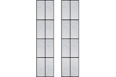 WEEKAMP Glas In Lood 6 Glasset T.B.V. WK6542 En WK6552 880x2115mm