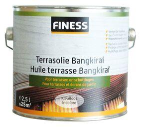 finess terrasolie bankirai buiten kleurloos 2,5ltr