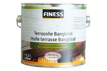 FINESS Terrasolie Bangkirai Kleurloos Buiten 2,5Ltr