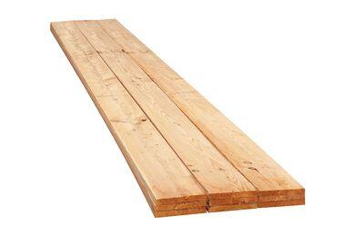 Douglas Plank Verduurzaamd,Gedroogd Geschaafd 4 ronde hoeken Transparant PEFC 22x150x5000mm