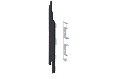 KERALIT 2860 Eindkap + Connector Links Voor 2814 Zwartgrijs Classic Nerf