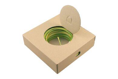 Installatiedraad Geel/Groen 2,5mm 100m