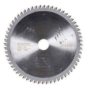dewalt cirkelzaagblad 60tands dt4350-qz 216/30