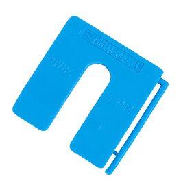 uitvulplaatjes 4mm blauw dispenser a 100st