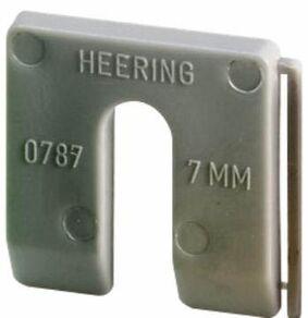uitvulplaatjes 7mm grijs dispenser a 60st