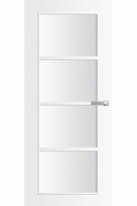 binnendeur skantrae nano topcoat skl929-bg incl. blank glas opdek linksdraaiend fsc mix 70% 930x2115
