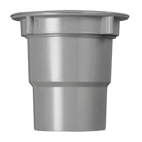 bakgoot uitloop 70/80/100 grijs