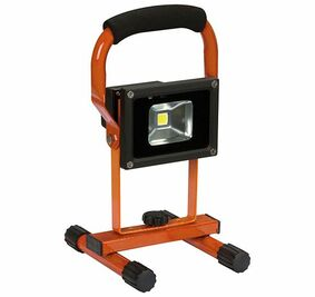 perel led-werklamp op accu 10w ip44 lion