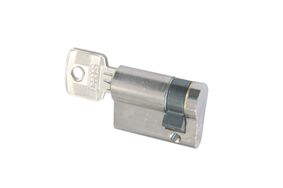 sx profielcilinder messing 30-40mm vernikkeld skg2
