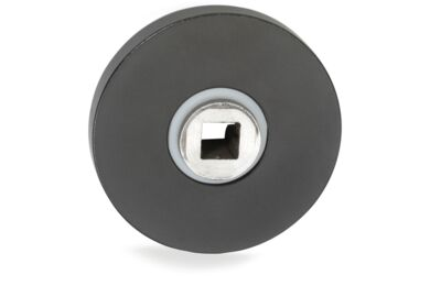 IMPRESSO Rozet Rond Verdekt Modulair Aluminium Zwart