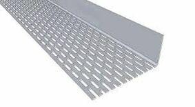 eternit aluminium afsluitprofiel 1zij geperforeerd 30x100x2500