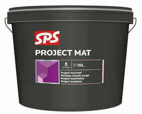 sps project latex mat 9010 gebroken wit 10ltr